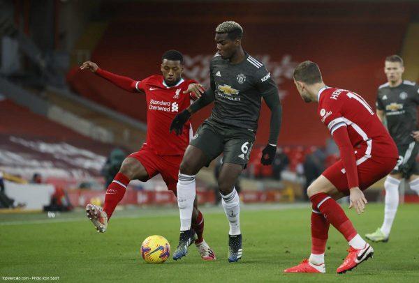 Paul Pogba, Liverpool - Manchester United