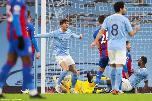 John Stones, Match Manchester City - Crystal Palace