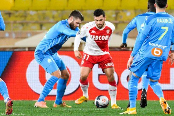 Kevin Volland, Match Monaco - OM Marseille