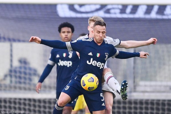 Arthur, match Juventus - Bologne