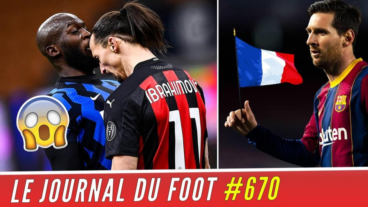 Journal du foot : le clash entre Lukaku et Ibrahimovic
