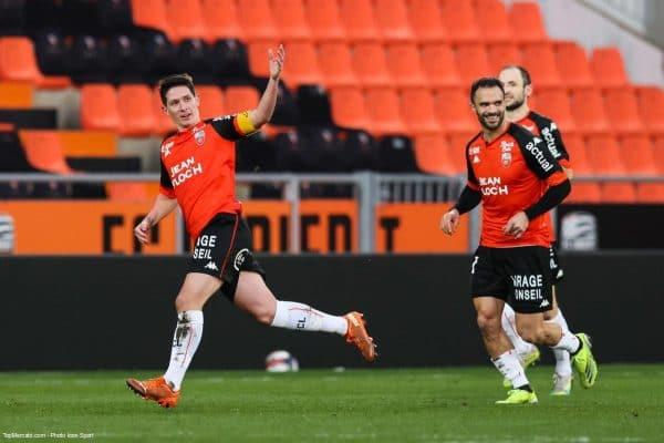 Abergel, FC Lorient - Reims
