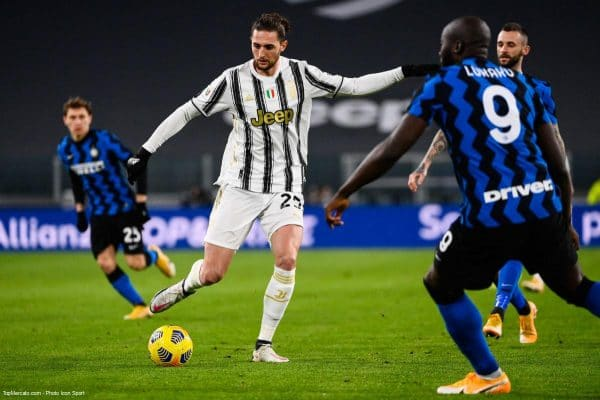 Adrien Rabiot, Juventus Turin - Inter Milan