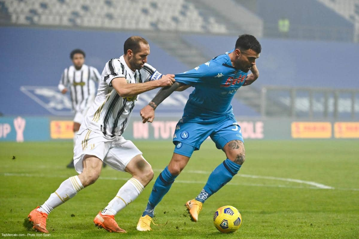 Chiellini, Match Juventus Turin - Naples
