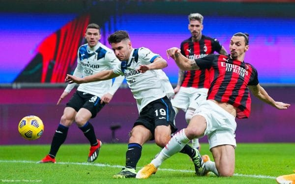 Match Milan AC - Atalanta Bergame