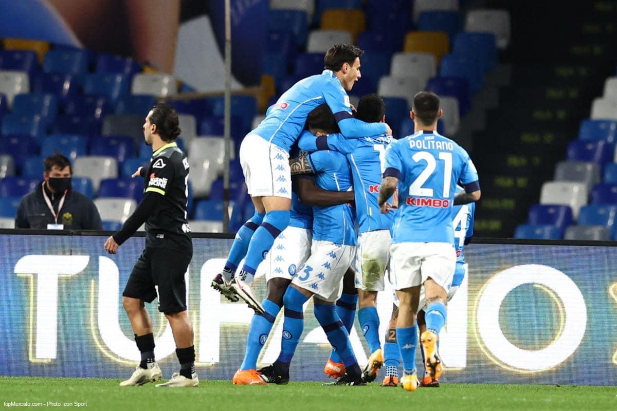 Match de Naples en direct