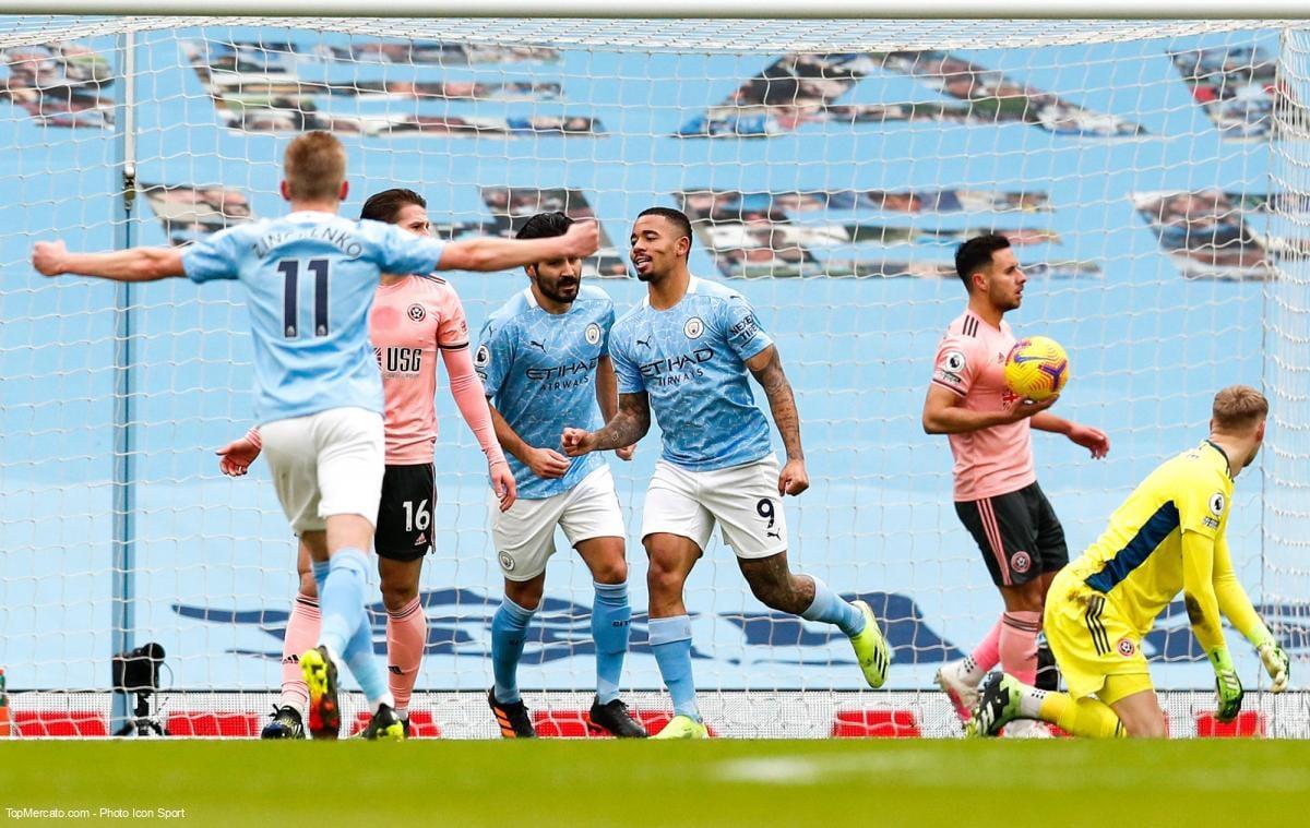 Match de Manchester City en direct
