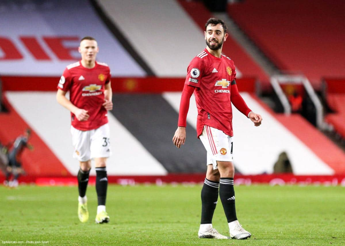 Bruno Fernandes, McTominay, Manchester United