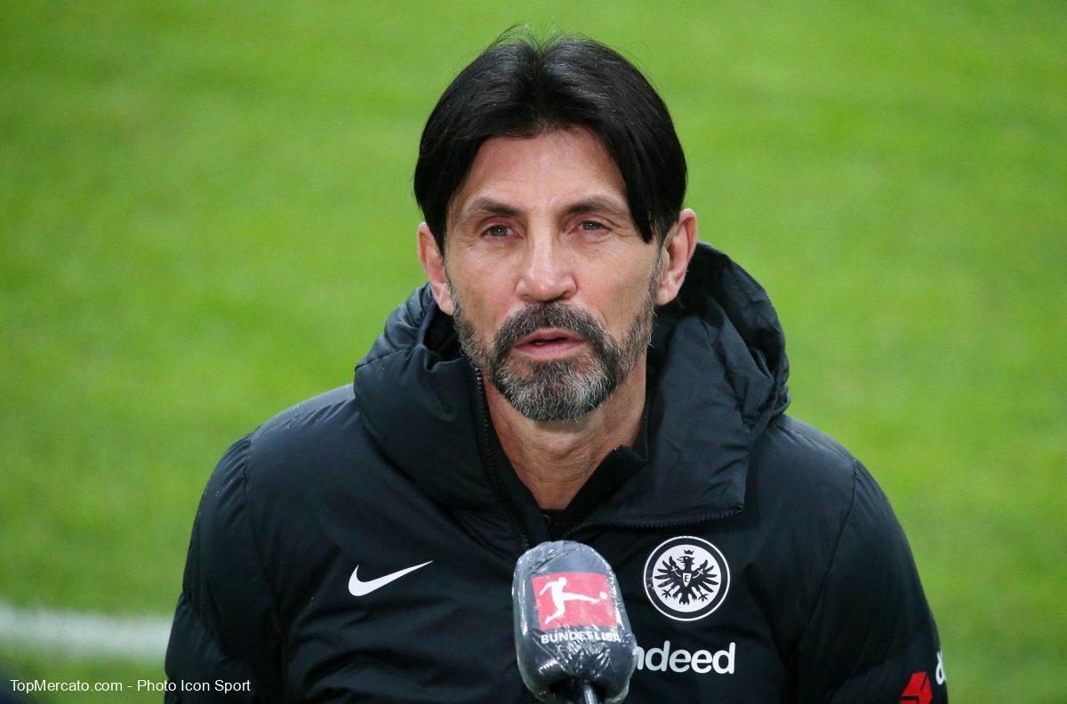 Bruno Hübner va quitter l'Eintracht Francfort