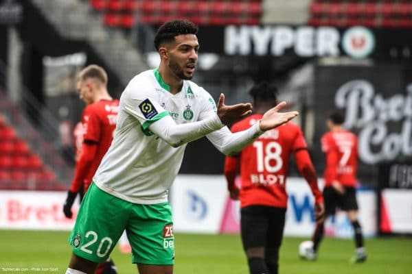 Denis Bouanga, AS Saint-Etienne