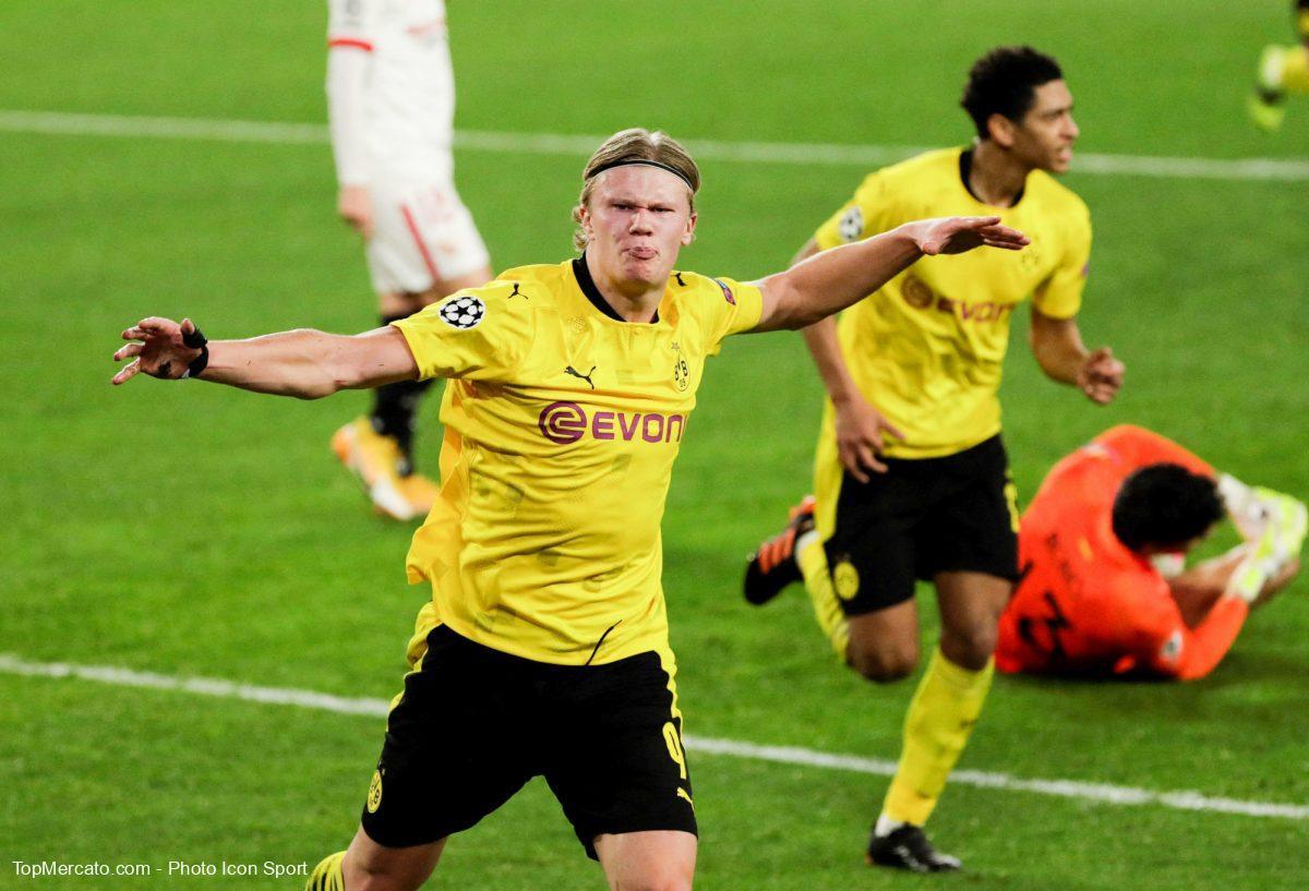 Haaland et Dortmund gagnent à Séville