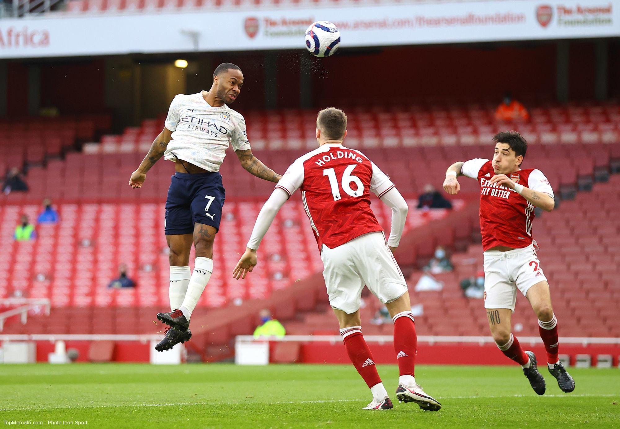 Raheem Sterling, Match Arsenal - Manchester City