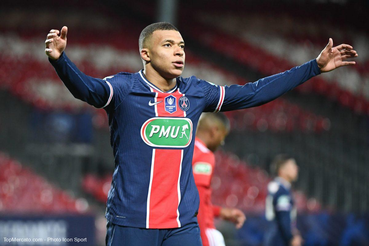 Kylian Mbappé, PSG - Brest