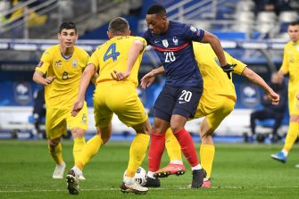 Anthony Martial France-Ukraine