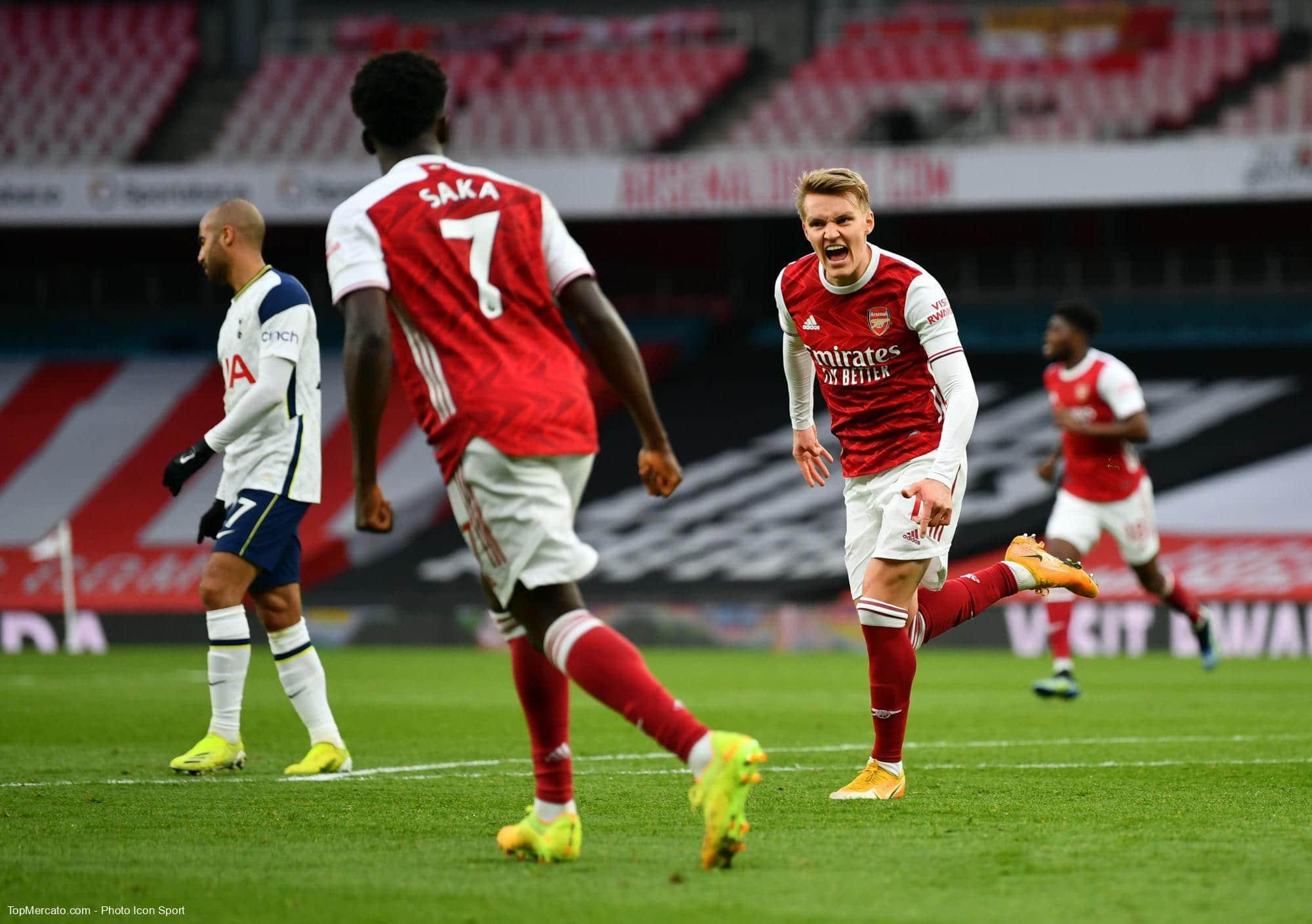 Martin Odegaard, Arsenal Tottenham
