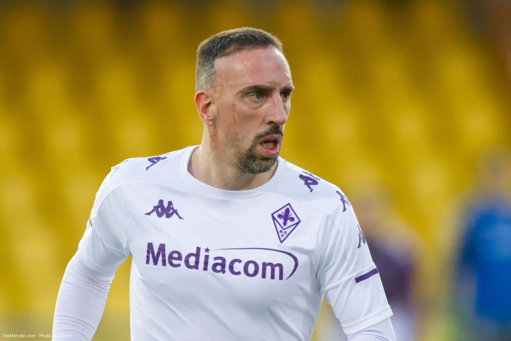 Fiorentina : un club de Serie A penserait à Ribéry