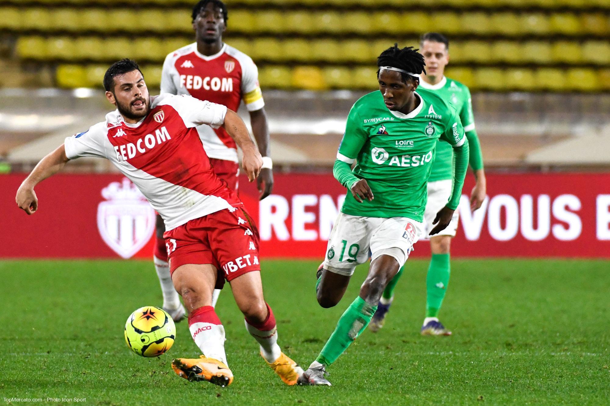 Monaco Saint-Etienne ASSE, Kevin Volland et Yvan Neyou