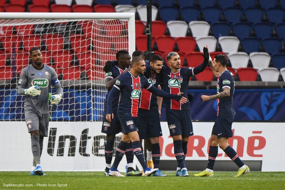 PSG Lille Kurzawa Maignan Icardi