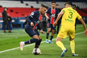 Kylian Mbappé, PSG Nantes