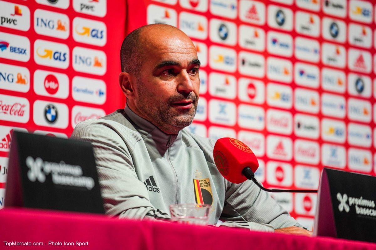 Roberto Martinez, Belgique