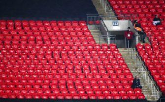 Wembley sans public
