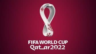 Logo Coupe du Monde 2022 mondial ilustration qatar