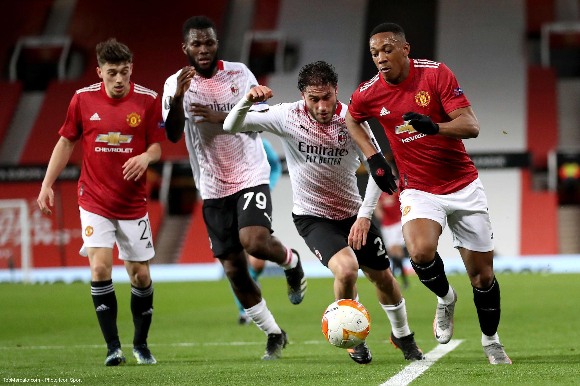 Anthony Martial, Man Utd - Milan AC