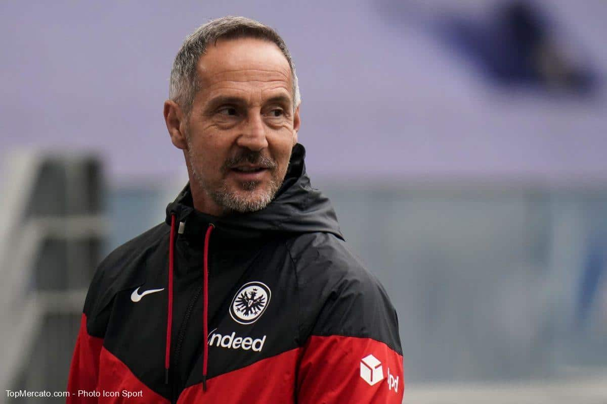 Adi Hütter, Eintracht Francfort