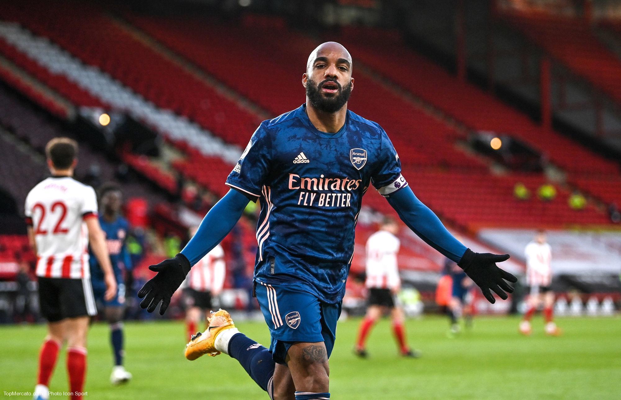 Alexandre Lacazette, Sheffield United-Arsenal