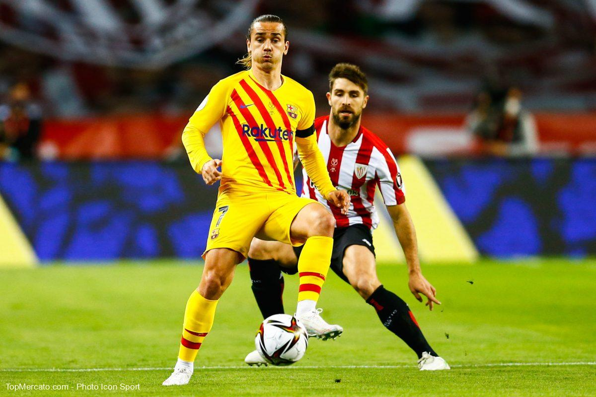Antoine Griezmann, Barça-Athletic Bilbao