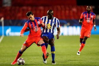 Ben Chilwell et Moussa Marega, FC Porto - Chelsea