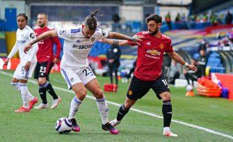 Bruno Fernandes, Leeds United-Manchester United