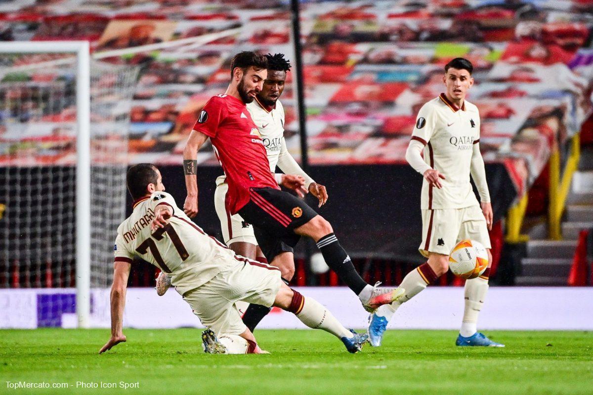 Bruno Fernandes, Man. Utd - As Rome