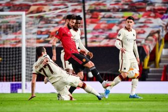 Bruno Fernandes, Man. Utd - As Rome