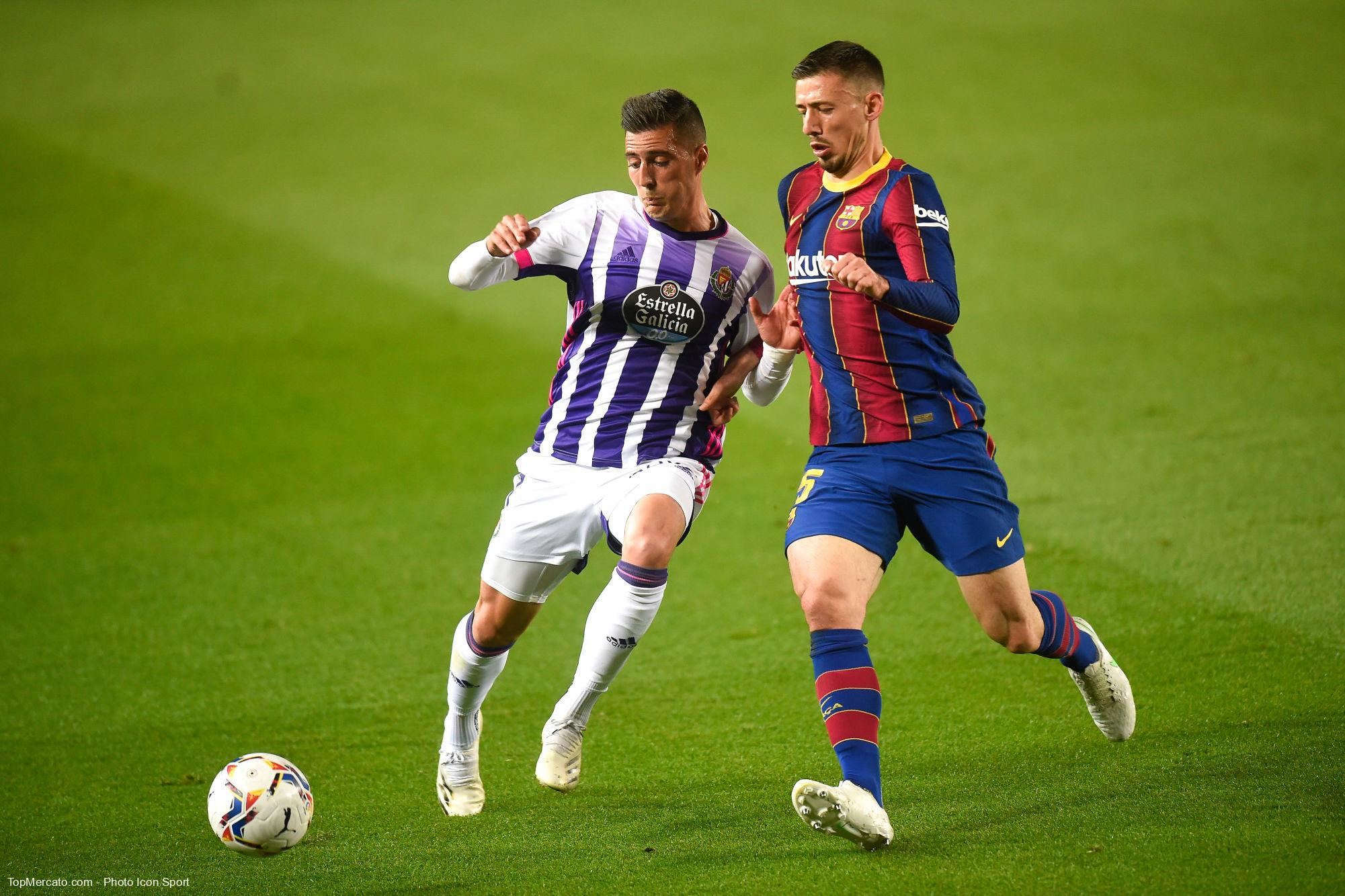 Clément Lenglet, FC Barcelone-Real Valladolid