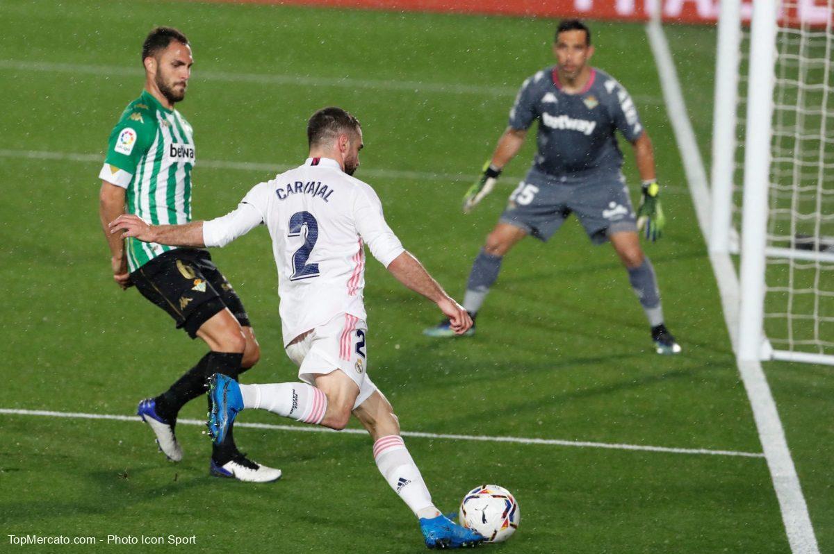 Dani Carvajal, Real Madrid-Betis Séville