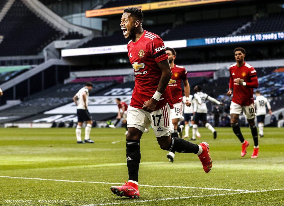 Fred Manchester United Tottenham