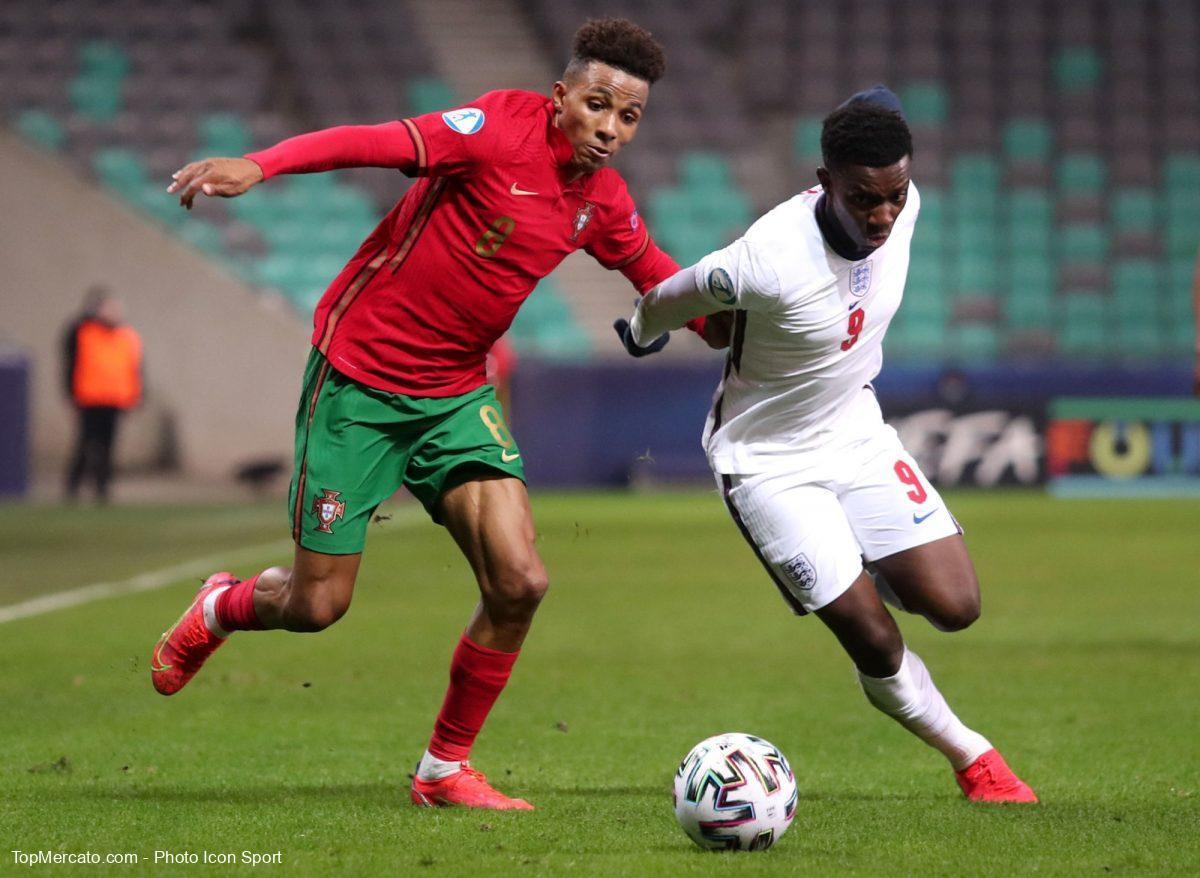 Gedson Fernandes Portugal Angleterre Espoirs