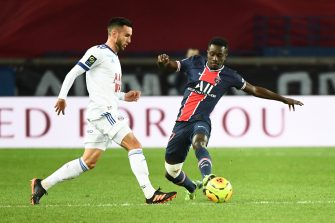 Idrissa Gueye et Adrien Thomasson, PSG-Strasbourg