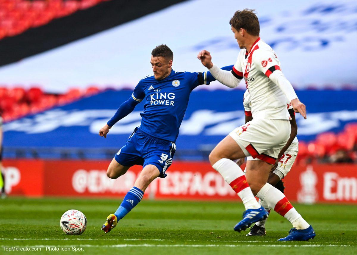 Jamie Vardy, Leicester City-Southampton
