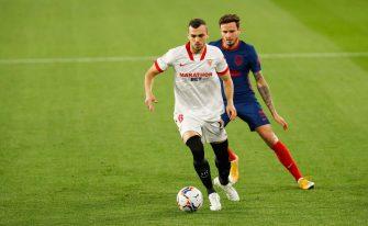 Joan Jordan et Saul Niguez, FC Séville-Atletico Madrid