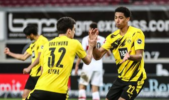 Jude Bellingham et Giovanni Reyna, Stuttgart-Borussia Dortmund