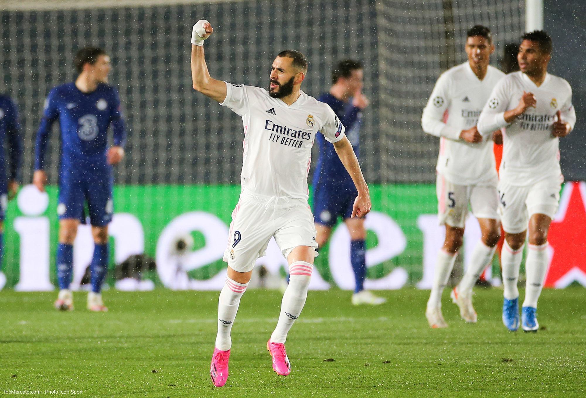 Karim Benzema, Real Madrid-Chelsea
