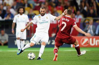 Karim Benzema, Real Madrid - Liverpool