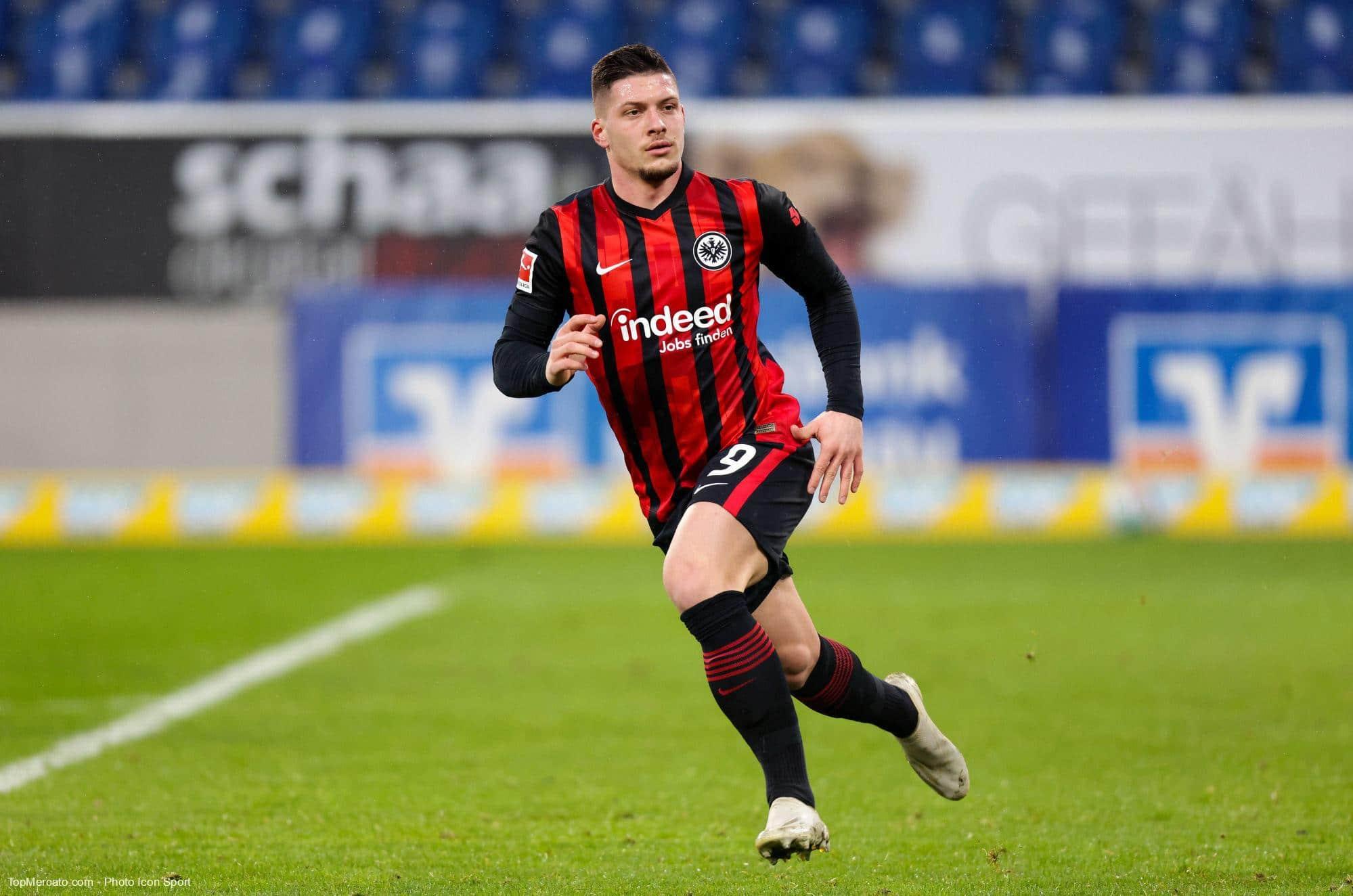 Luka Jovic, Eintracht Francfort