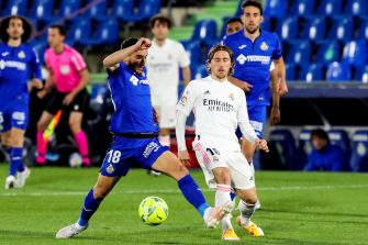 Luka Modric, Getafe-Real Madrid