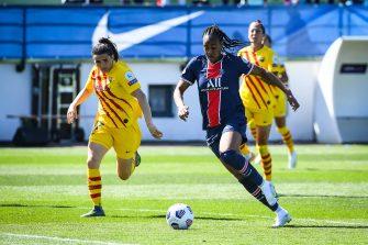 Marie-Antoinette Katoto, PSG-Barça