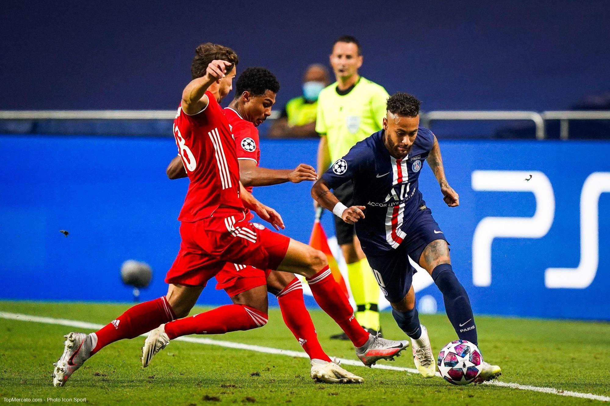 Neymar, Gnabry et Goretzka, PSG-Bayern