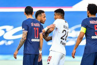 Neymar Reinildo PSG Lille