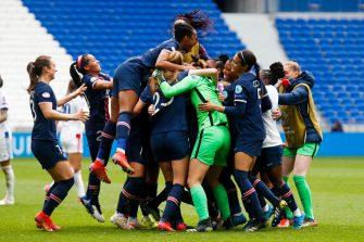 Paris Lyon, Ligue des champions féminine